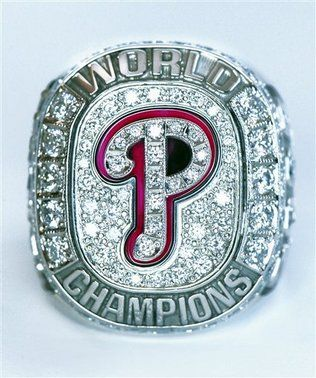Philadelphia Phillies 2008 World Series Ring