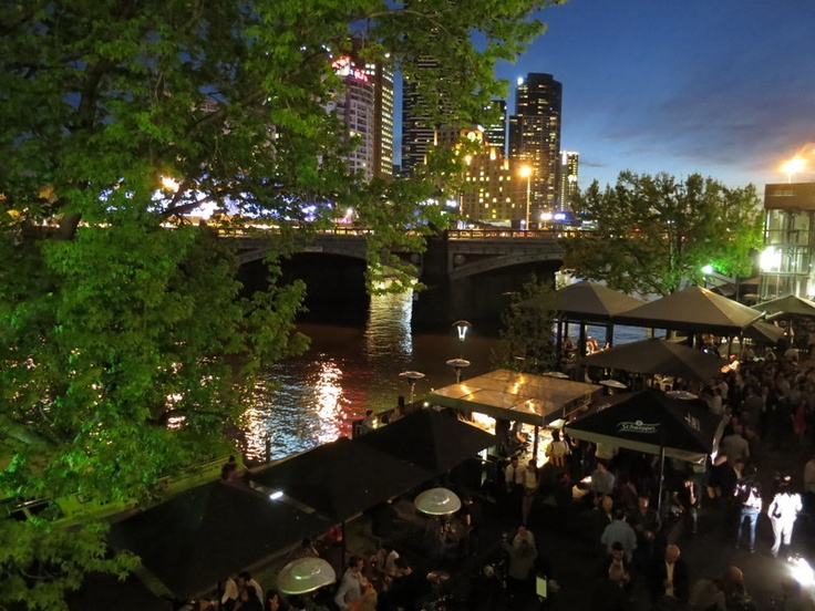 Riverland Bar: Yes, it's obvious, but there's a reason you can rarely get a seat here. Beers on tap, a great location overlooking the river and a bbq nearby for hunger emergencies pretty much ticks all the boxes.