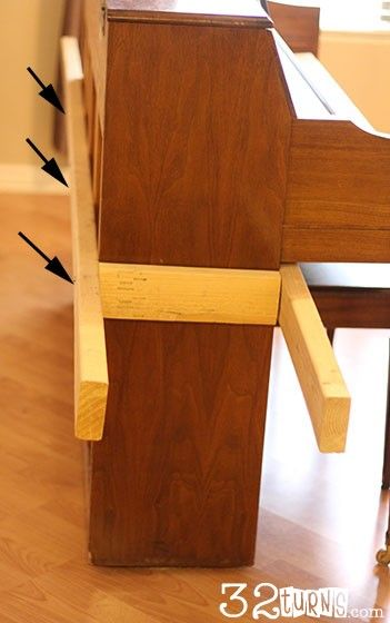 Upright Piano Moving Tips - brilliant way to move a piano!