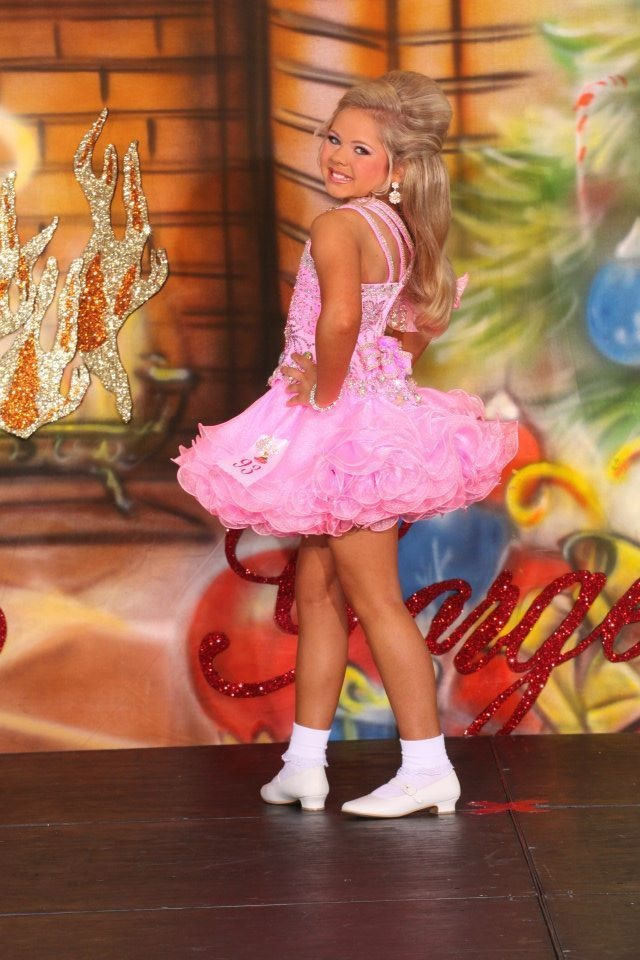 National Glitz Pageant Dress Size 7 9 Custom Made by Cris Carpenter Gorgeous   eBay