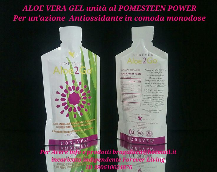 Per combattere i radicali liberi in comoda monodose Per avere info e prodotti bragaluca@hotmail.it  incaricato indipendente Forever Living Products Italy