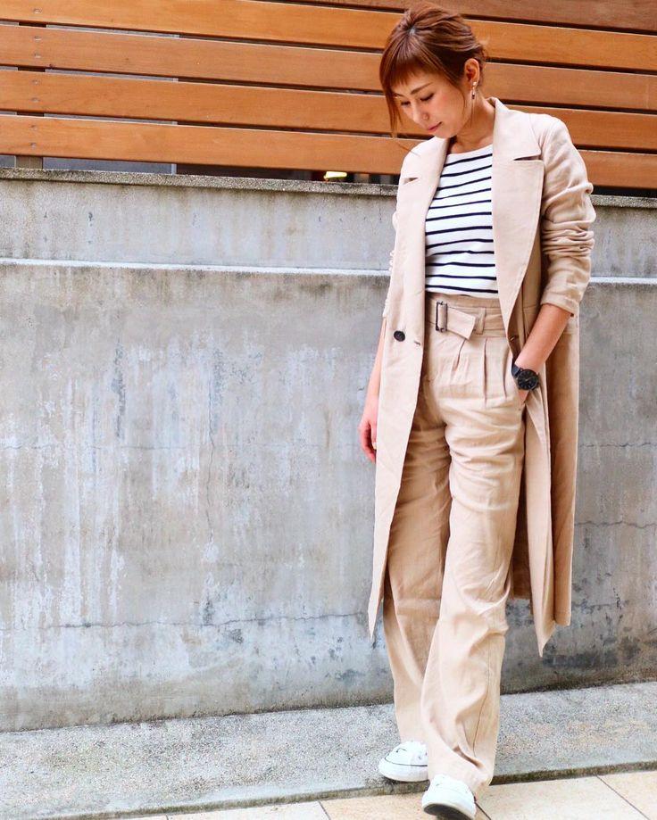 1st Anniversary 年目もよろしくどうぞお願い致します  #outfit #ootd#今日の服 #今日のコーデ #ベージュコーデ #ベージュコート #ハイウエスト #パンツコーデ #シンプルコーデ #simplestyle #styling #3月1日 #1周年 #イベント中 #ファッション #レディースファッション #アラフォーママ #アラフォーコーデ #アラサーコーデ #fashion #coordinate #コーディネート #大人カジュアル #大人女子 #大人可愛い #ファイヴ #5