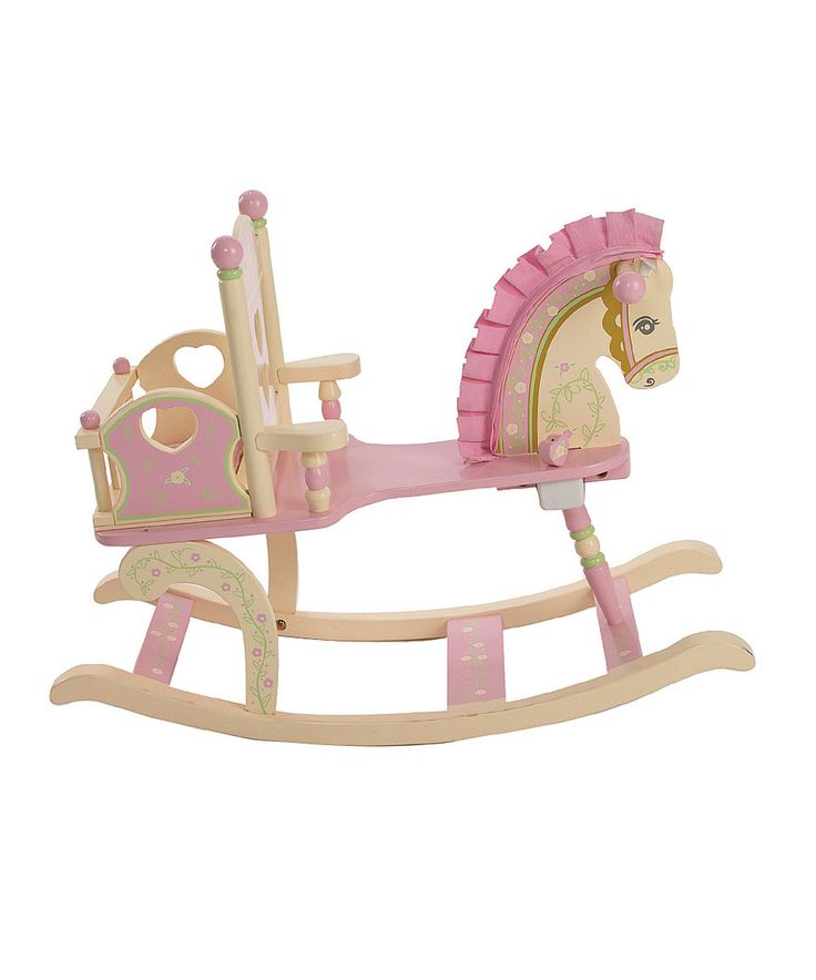 Look at this #zulilyfind! Rock-A-My-Baby Rocking Horse by Levels of Discovery #zulilyfinds