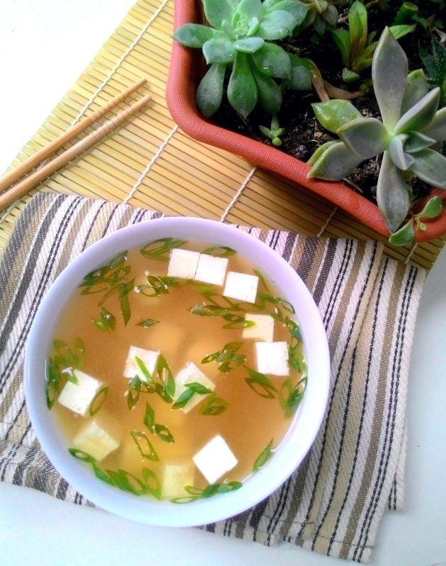 Missoshiro ou sopa de missô