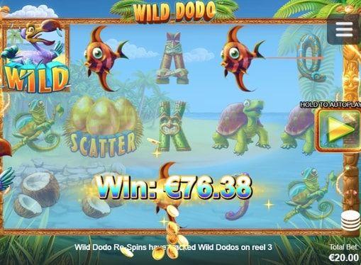 Wild Dodo в казино на реальные деньги с выводом  %ANNOUNCE  http://casinopays.net/wild-dodo
