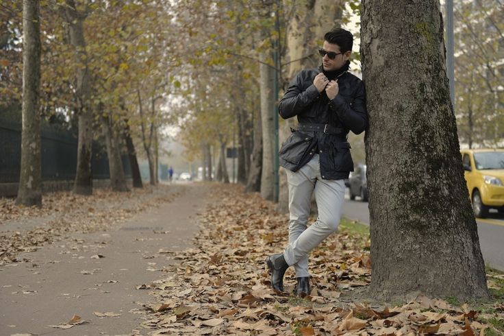 """Fourth picture in Frank Gallucci's blog post """"Inverno"""". Model: Frank Gallucci. Photograph: ChillaxingRoad."""