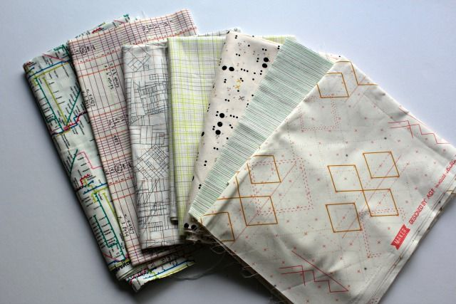 A Quilter's Table: Illustrating Low-Volume