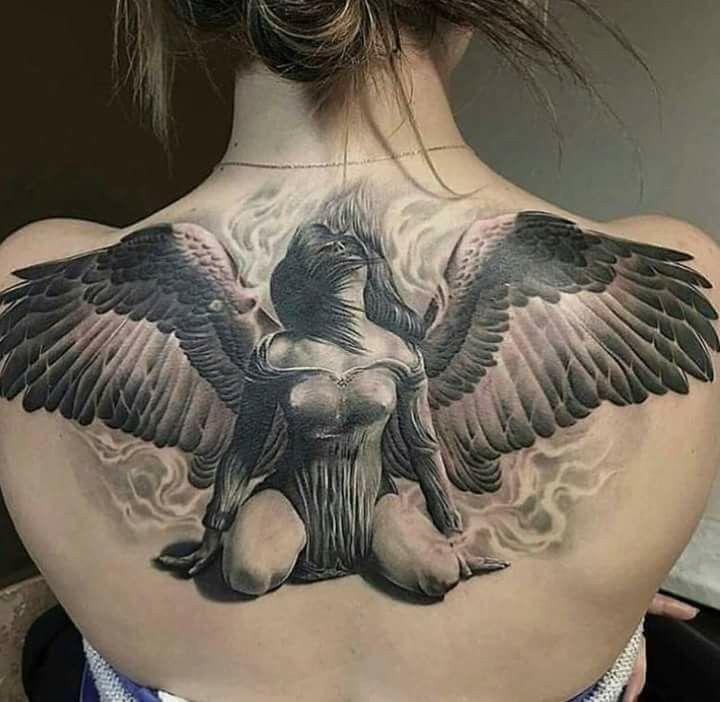 Best 25+ Fallen Angel Tattoo Ideas On Pinterest  Fallen