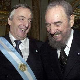Los grandes líderes de la izquierda de Latinoamérica dan su respaldo a Kirchner | Edición impresa | EL PAÍS