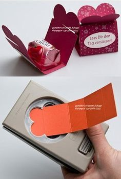 Candy nugget holder . . . Stampin' Up!