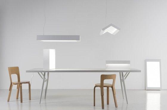 Milan 2011: 'White' lights by Ville Kokkonen/Artek Studio for Artek (FI)