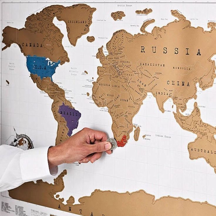 17 Best images about Gifts for Teens! on Pinterest Smooth, Black - best of world map countries picture