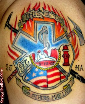 Pin Top Ems Paramedic Tattoos In Lists For Pinterest on Pinterest