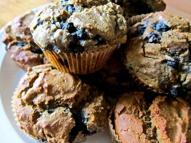 GF blueberry muffins. So good! @Meghan Krane Telpner and #MealPlanMagic