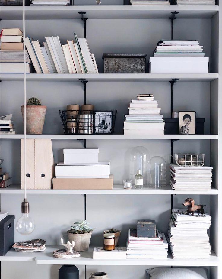 my scandinavian home: Shelves in the beautiful home of Anna Cor.