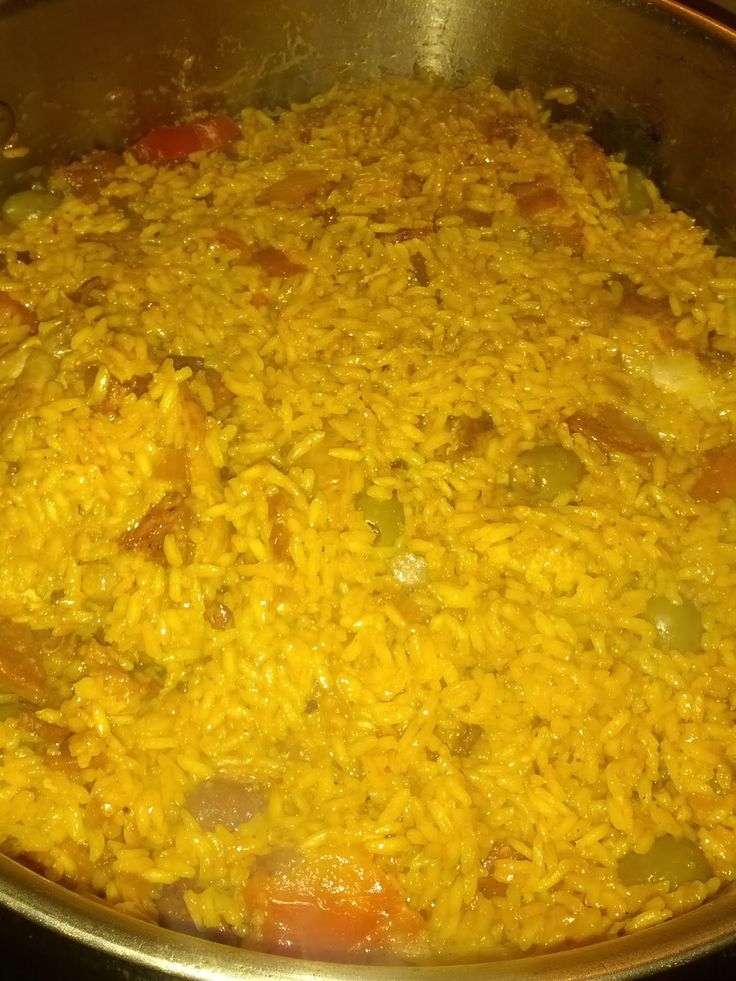 Cuban yellow rice and chicken has to be one of my most favorite dishes.   Eating this dish brings me back to when I was a kid. ...