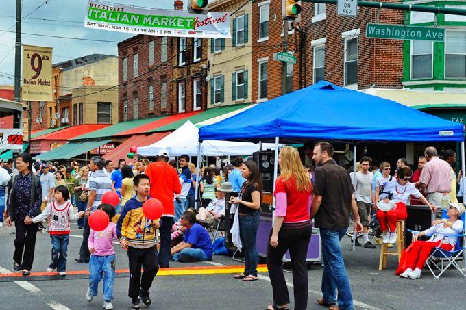 9th Street Italian Market Festival (Photo by R. Kennedy for Visit Philadelphia)