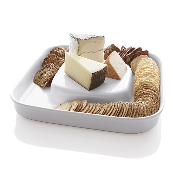Cheese & Cracker Server in Specialty Serveware | Crate and Barrel $10