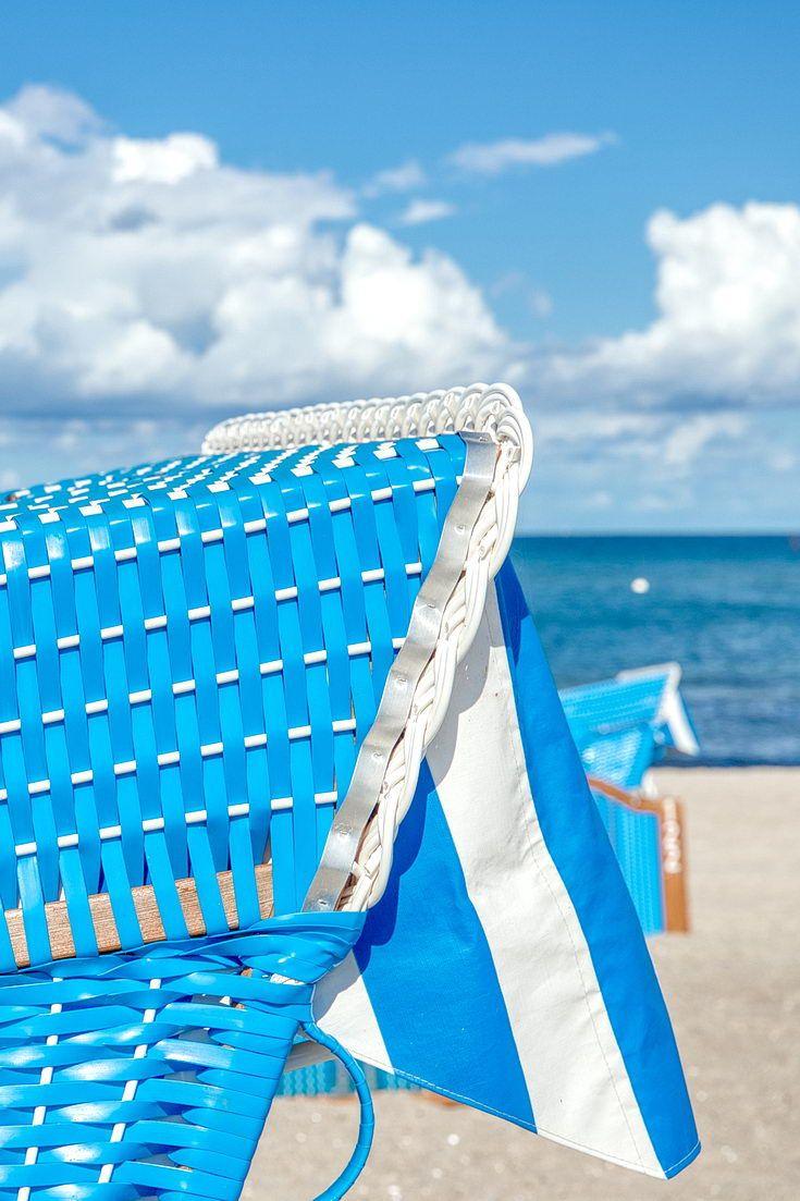 Der Strandkorb an der Ostsee Urlaub strand, Ferien