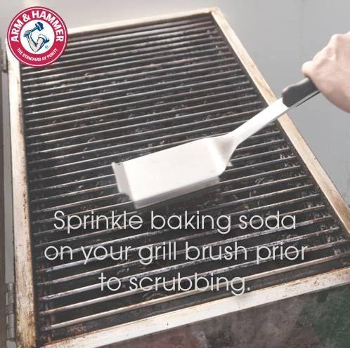clean bbq grill