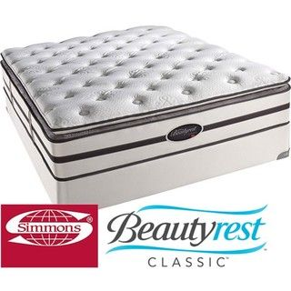 @Overstock - You'll enjoy a peaceful night on this plush California king-size mattress from Beautyrest. The mattress uses an ultra-plush pillow top and soft foam layers for comfort and features the BeautyStyle fabrics, so you can wake feeling rested.http://www.overstock.com/Home-Garden/Beautyrest-Classic-Porter-Plush-Pillow-top-California-King-size-Mattress-Set/5229617/product.html?CID=214117 $989.99