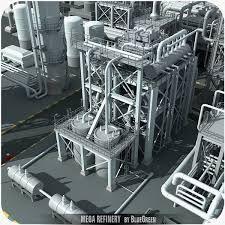 scifi refinery - Google Search