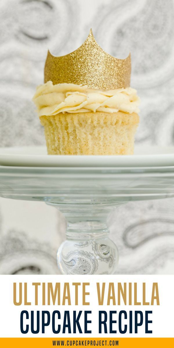 Check out how I made this ultimate vanilla cupcake recipe! You'll surely love this delicious dessert recipe! Easy baking tips and recipes @cupcakeproject #cupcake #vanilla #dessert