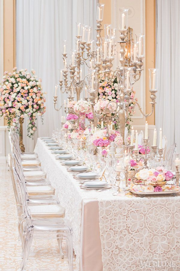 WedLuxe – A Magnificent Obsession  Photography by: LAtelier ...