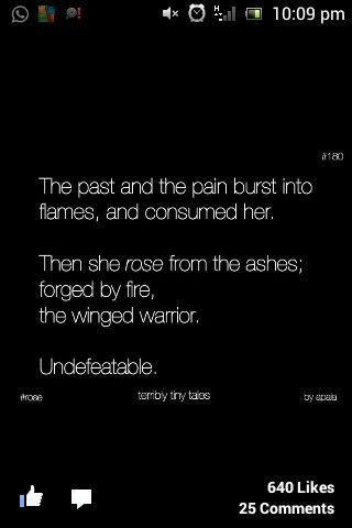 Terribly Tiny Tales :')