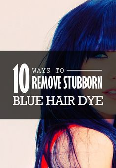 I watched (practically) every Youtube video that talked about removing blue hair dye and tried them all - here a list of what did and didn't work.