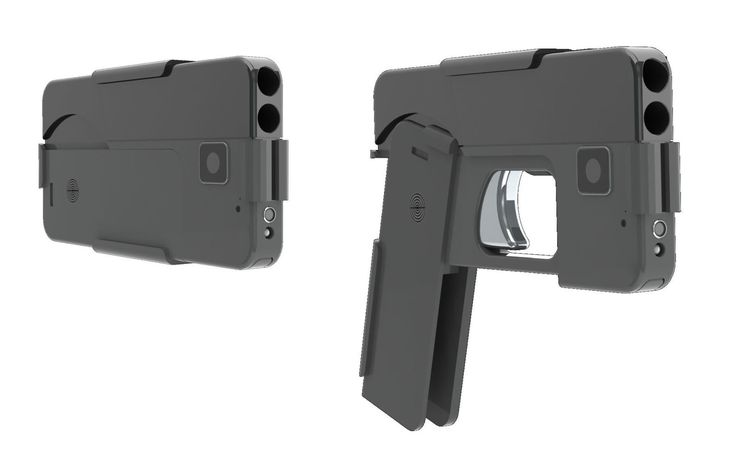This Smartphone Gun Is One Hell of a Concealed Weapon  - PopularMechanics.com