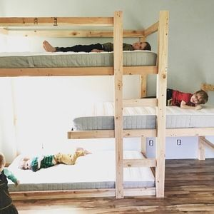 Best 25+ Triple bunk beds ideas on Pinterest | Triple bunk, 3 bunk beds and  Triple bed