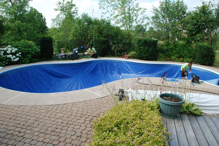1000 Ideas About Pool Liner Replacement On Pinterest Above Ground Pool Liners Pool Liners