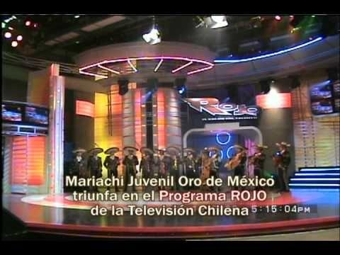 MARIACHI JUVENIL ORO DE MEXICO EN TV CHILE - YouTube