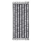 Tapis 100% coton imprimé triangles  60x120cm ECLECTIC