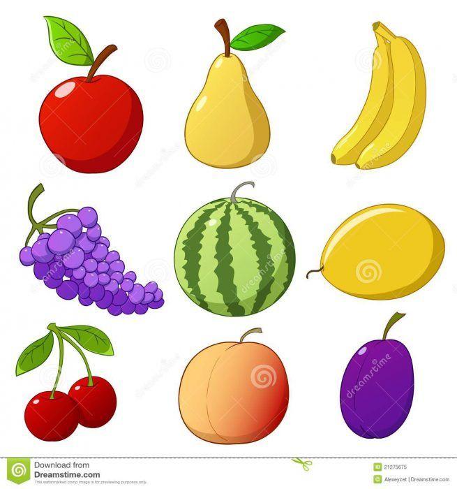 Desenhos De Frutas Coloridas Desenhos De Frutas Desenhos Desenho