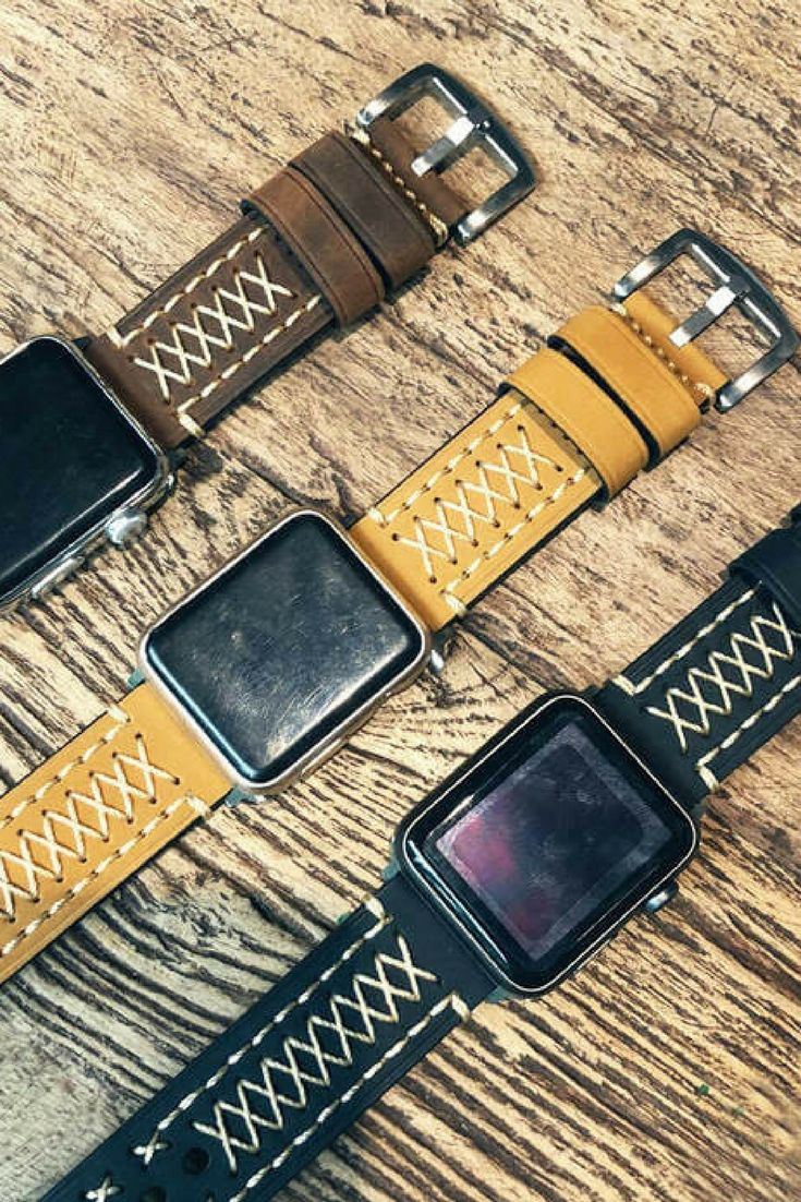 This Vintage Leather Apple Watch Band Fits Apple Watch Series 1