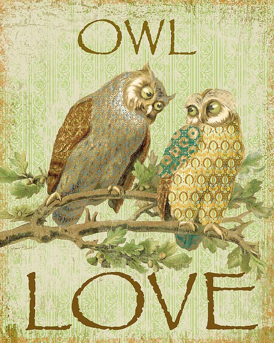 I uploaded new artwork to fineartamerica.com! - 'Owl Love-c' - http://fineartamerica.com/featured/owl-love-c-jean-plout.html via @fineartamerica