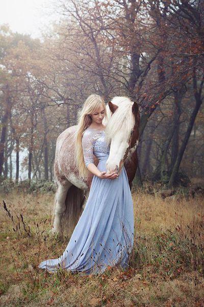 Paris Ciel Dress In Fairytale Photoshoot. Photo by Kibie Kaspersen