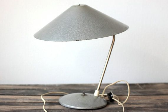 Table Soviet lamp / Vintage office lamp от vintageitscool