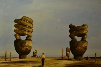 Artistaday.com : Blue Mountains, NSW, Australia artist Ben Tankard
