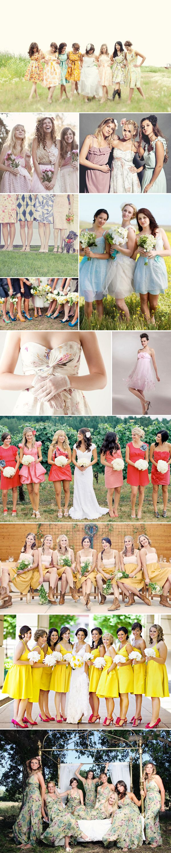 Fashion Inspiration for Bridesmaids & Groomsmen