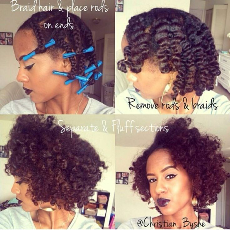 Braid Outs On Short Natural Hair - Best Short Hair Styles