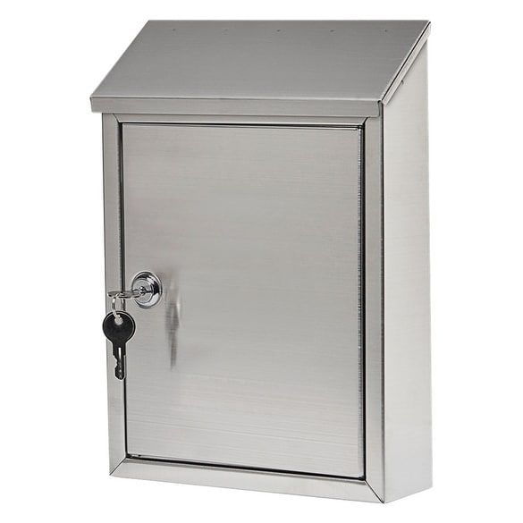 Gibraltar Ashley Wall-Mounted Lockable Mailbox 11-11/16 in. H x 2-13/16 in. L