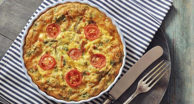 Omelete de forno com apenas 78 calorias e ZERO fritura: receita fácil para sua dieta