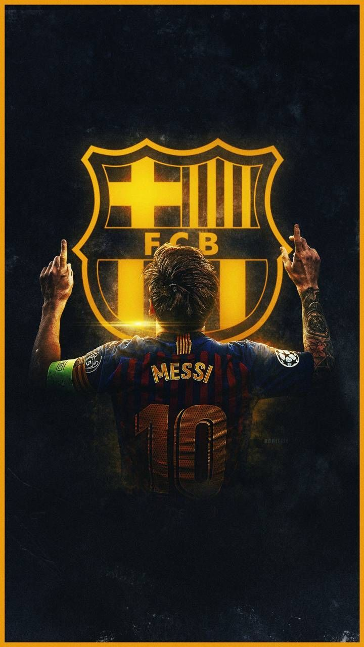 Download Messi By Ronitgfx Wallpaper By Rc Gfx 12 Free On Zedge Now Brow Lionel Messi Messi Gambar Sepak Bola