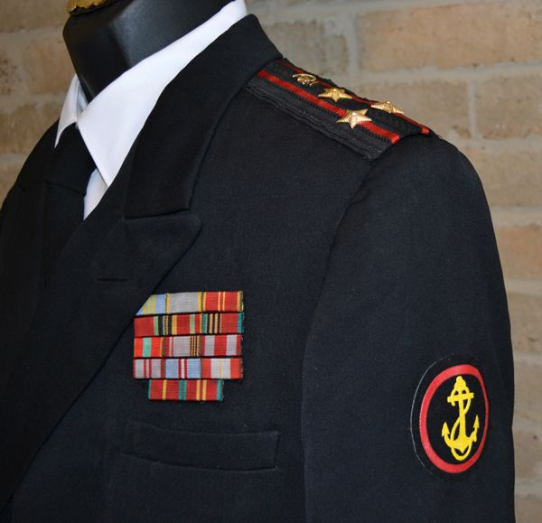 Soviet Naval Infantry Medical Officer- Colonel