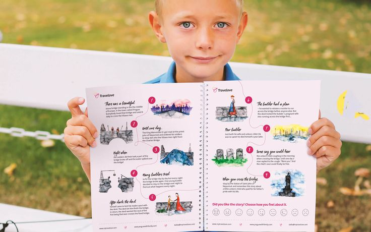 Prague activity book I Prague family kit I Prague with kids