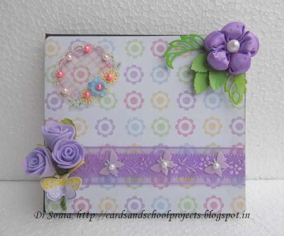 Cards ,Crafts ,Kids Projects: CD case recycling