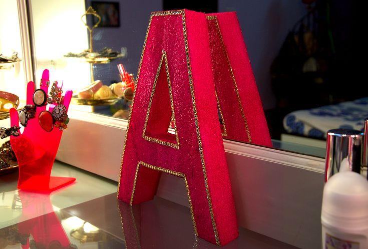 3D LETTER ART CREATION AT HOME (DIY)